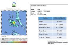 Fakta Gempa Halmahera Selatan dan Pandeglang, Ini Analisis BMKG