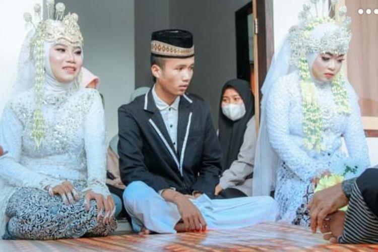 pengantin viral lombok