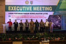 Upaya Provinsi Lampung Amankan Ketersediaan Lahan Pangan Diapresiasi Kementan
