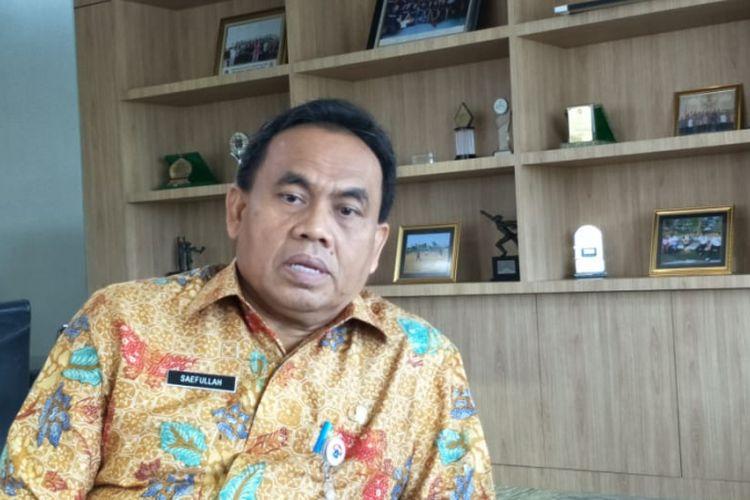 Sekretaris Daerah DKI Jakarta Saefullah di Balai Kota DKI Jakarta, Jalan Medan Merdeka Selatan, Kamis (24/1/2019).