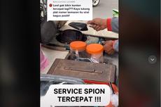 Viral Video Servis Cepat Spion Motor, Cuma Hitungan Detik