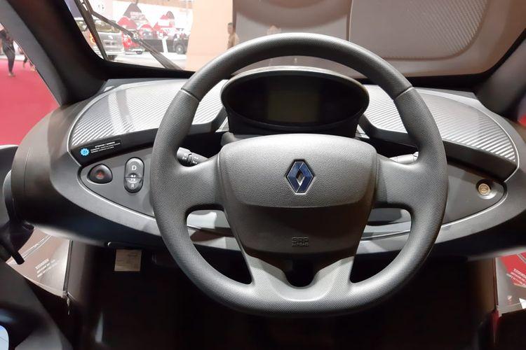 Mobil listrik mungil Renault Twizy