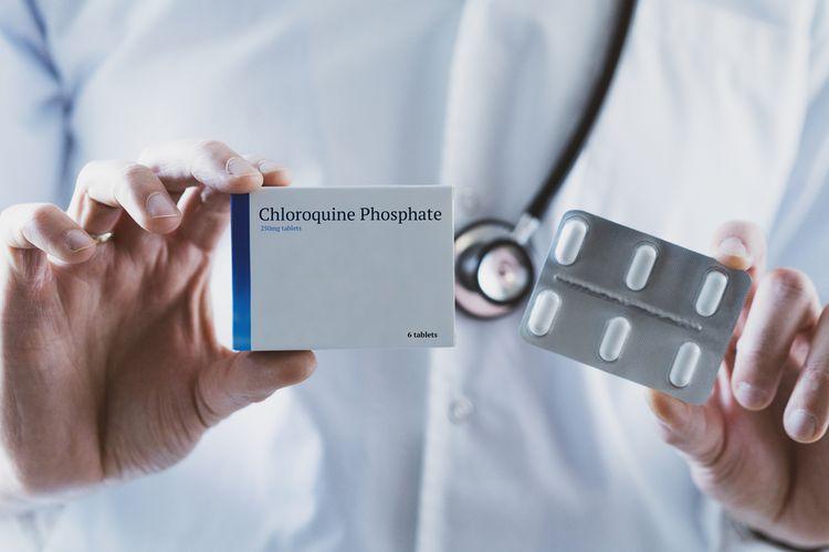 Ilustrasi chloroquine