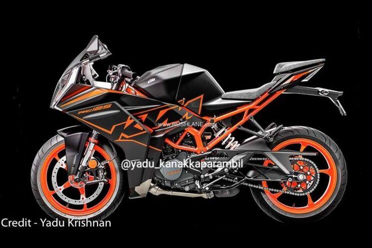 Penampakan KTM RC 125 2022 yang bocor