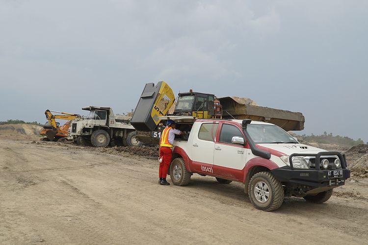 Layanan Toyota Home Service di Balikpapan terjun langsung ke konsumen di wilayah pertambangan