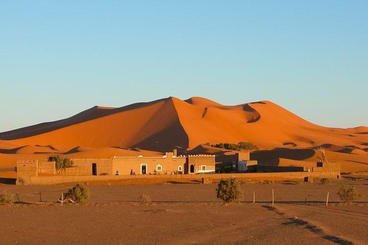 Erg Chebbi di Merzouga, Maroko.