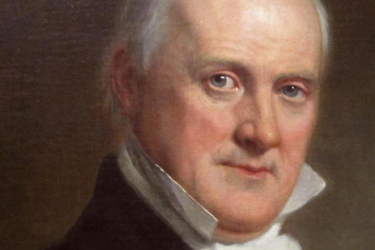 Presiden AS James Buchanan (1857-1861). [Dok Gedung Putih Via CBS News]