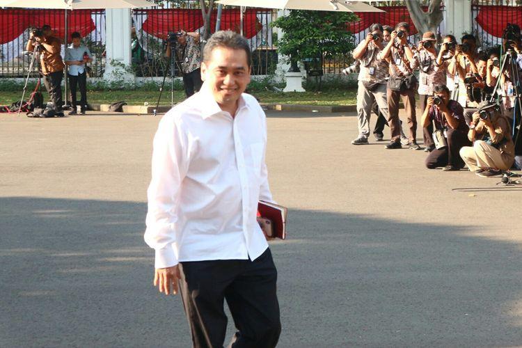 Politisi PKB Agus Suparmanto temui Presiden Joko Widodo