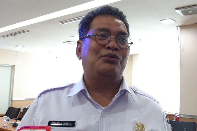 Kepala Kesbangpol DKI Jakarta Taufan Bakri di Gedung DPRD DKI, Jalan Kebon Sirih, Jakarta Pusat, Rabu (21/8/2019)