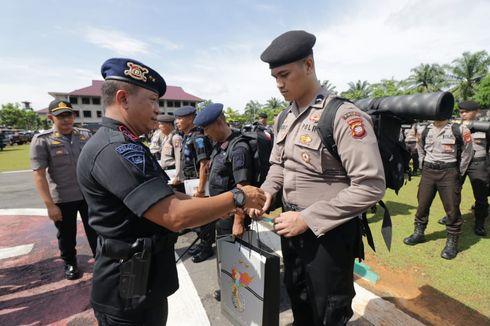 440 Personel Polda Kabar Dikirim ke Jakarta