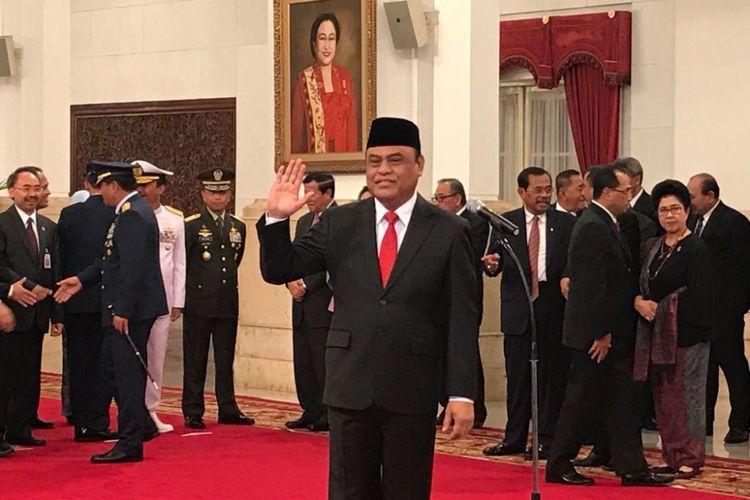 Menteri Pendayagunaan Aparatur Negara dan Reformasi Birokrasi Syafruddin.