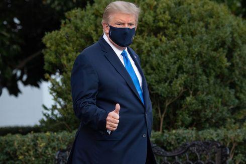 Dirawat karena Covid-19, Trump Masih Tetap Bekerja dari RS