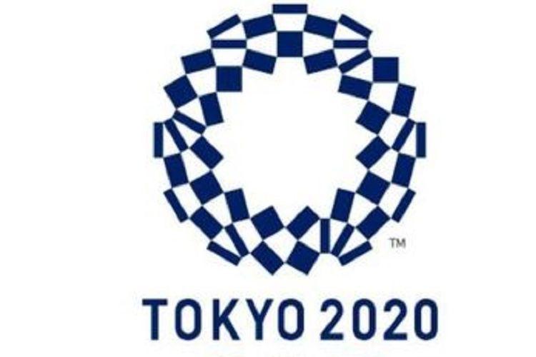 Logo Olimpiade Tokyo 2020.