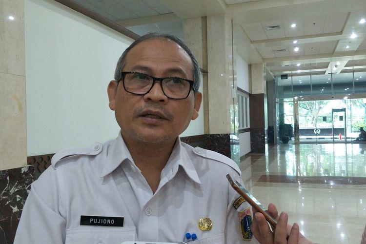 Kepala Badan Pengelola Aset Daerah (BPAD) Jakarta Pujiono di Gedung DPRD DKI Jakarta, Jalan Kebon Sirih, Jakarta Pusat, Rabu (13/11/2019).