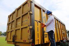 Bikin Kapok, Kemenhub Potong 3 Truk ODOL di Palembang