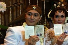 Demian Aditya dan Sara Wijayanto Akhirnya Jadi Suami Istri