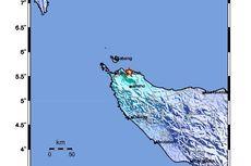 Penjelasan BMKG soal Penyebab Gempa Aceh 5,3 M 14 November 2020