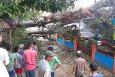 Angin Puting Beliung di Sumedang, Masjid Rusak Tertimpa Pohon Tumbang