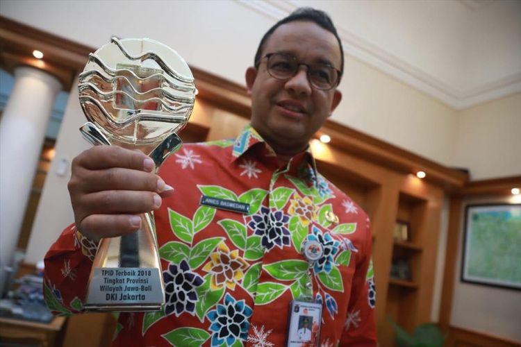 Pemprov DKI Jakarta raih penghargaan pengendali inflasi 2019 di daerah Jawa dan Bali