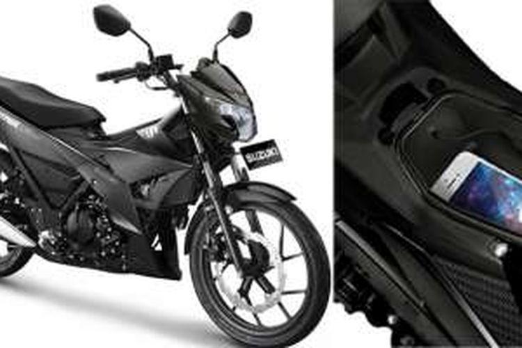Suzuki Satria F150 Black Predator dengan fitur baru yang fungsional.