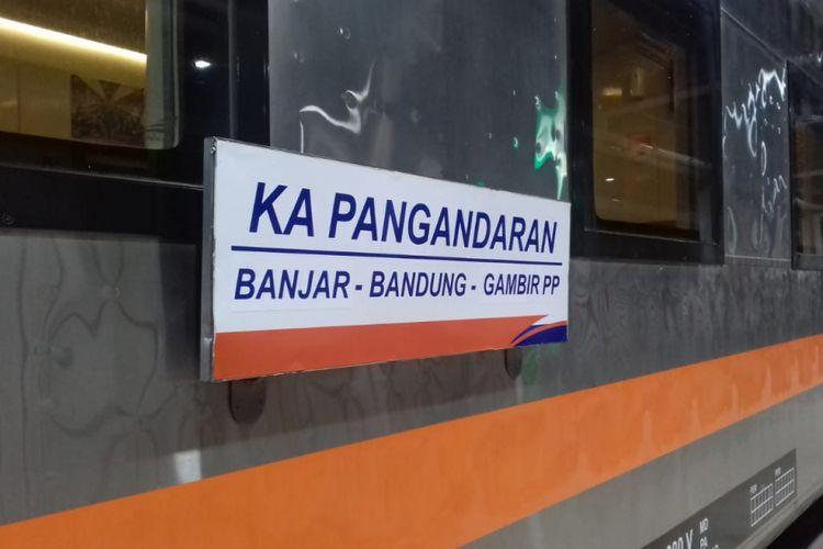 PT Kereta Api Indonesia (KAI) resmi meluncurkan kereta api (KA) Pangandaran relasi Jakarta-Bandung-Banjar, Rabu (2/1//2019).