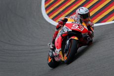 MotoGP Belanda 2021, Kecelakaan Hari Pertama Bikin Marc Marquez Merana