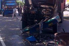 Dua Truk dan Dua Motor Terlibat Kecelakaan, 3 Orang Tewas Terjepit