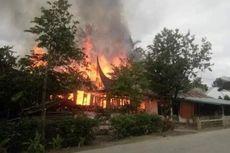 Si Jago Merah Hanguskan 4 Rumah di Solok, Seorang Guru SMK Tewas Terbakar
