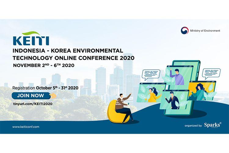 Banner KEITI Indonesia Korea Environmental Technology Online Conference 2020
