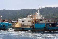 Giliran Kapal Ilegal Asal Filipina dan Taiwan Tertangkap Curi Ikan di Laut Sulawesi