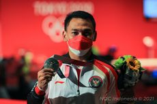Bakti Peraih Medali Perak Angkat Besi Olimpiade Tokyo 2020 Belum Usai