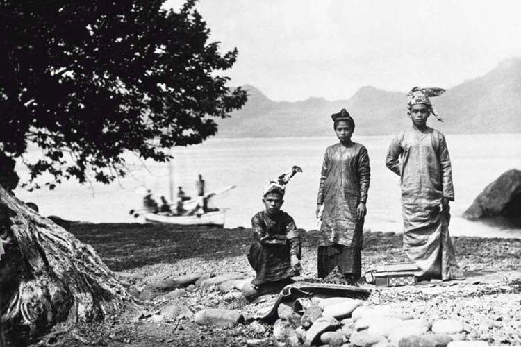 Kepulauan Sangihe di masa lalu