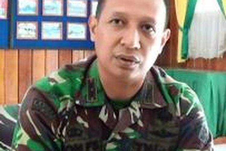 Komandan Distrik Militer 1307 Poso Letkol Infanteri Eron Firmansyah