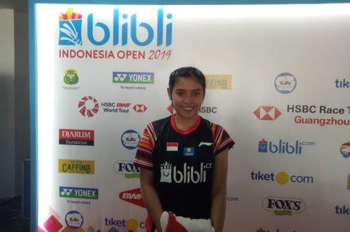 Indonesia Open 2019, Gregoria Puas Bisa