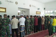 TNI Shalat Gaib untuk Sertu Anumerta Rikson yang Gugur di Papua