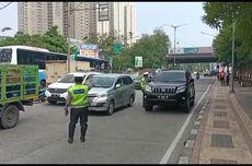 Sosialisasi Ganjil Genap di Jalan Gunung Sahari, Ratusan Kendaraan Diminta Putar Balik