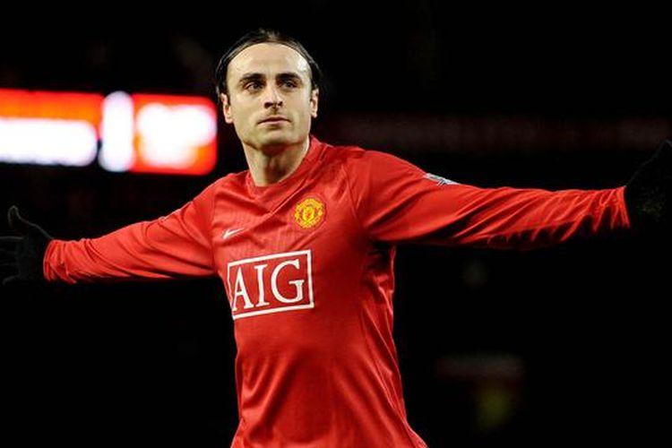 Penyerang Manchester United, Dimitar Berbatov.