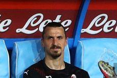 Napoli Vs Milan, Ibrahimovic Tampil Melempem dan Marah