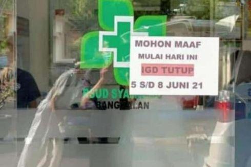 Sempat Ditutup, IGD RSUD Bangkalan Kembali Dibuka, Ini Alasannya...
