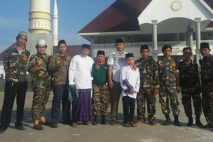 Banser terlibat dalam pengamanan shalat Ied di Masjid Raya KH Hasyim Asyari Kalideres