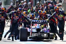 Formula 1, Roda Lepas, Turun 10 Posisi!