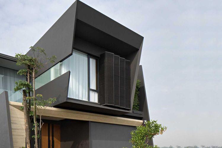 Desain Rumah Minimalis Dengan Halaman Luas simpel dan memikat rumah minimalis kontemporer rakta studio