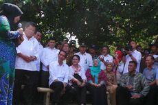 Hanya 10 Menit, Jokowi Sapa Nelayan di Pelabuhan Perikanan Samudera
