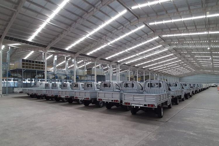 Mobil pikap Bima juga diluncurkan bersamaan denga peresmian pabrik mobil Esemka milik PT Solo Manufaktur Kreasi, di Sambi-Boyolali, Jawa Tengah, Jumat (6/9/2019) siang.