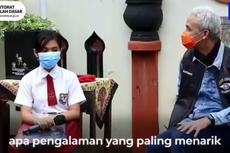 Ganjar Pranowo Bacakan Surat Curhatan Belajar Daring Siswa SD, Ini Isinya
