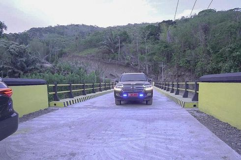 Jembatan di Pedalaman Pangkep, Barru dan Bone Akhirnya Diperbaiki