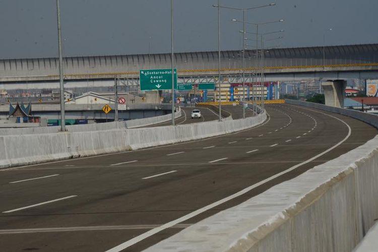 Jalan Tol Akses Tanjung Priok dirancang sepanjang 11,4 kilometer.