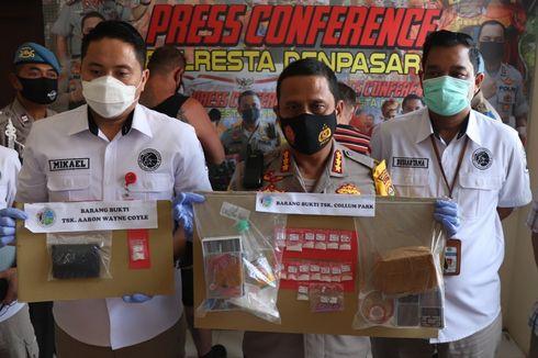 Bali Police Arrest 2 Foreigners for Drug Offenses