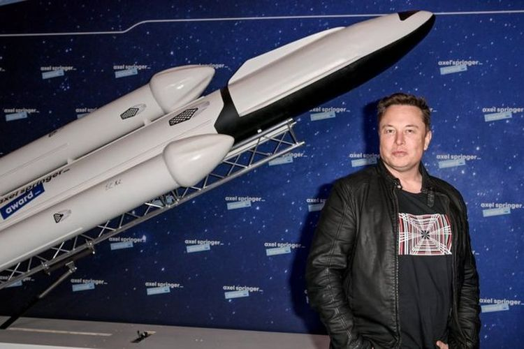 CEO SpaceX, Elon Musk.