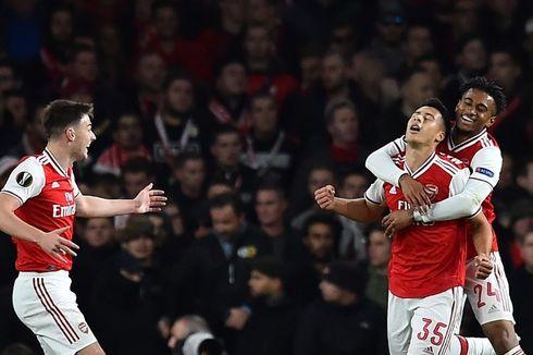 Jadwal Liga Europa Malam Ini, Man United, Arsenal, dan AS Roma Main